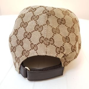 Gucci Accessories - GUCCI Original GG canvas baseball hat with Web